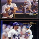 MIKE PIAZZA 1994 UD CC Up Close + 1997 Pinnacle Express.  DODGERS