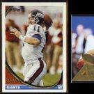 PHIL SIMMS 1991 Upper Deck #181, 1994 Topps #260 + 1994 Pinnacle #5.  GIANTS