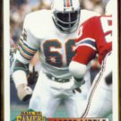 LARRY LITTLE 1993 Score Hall Of Famers #439.  DOLPHINS