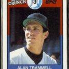 ALAN TRAMMELL 1989 Topps Cap'n Crunch Odd #3.  TIGERS