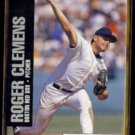 ROGER CLEMENS 1992 MLBPA Jimmy Dean odd #10 of 18.  RED SOX