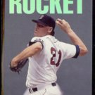 ROGER CLEMENS 1993 Triple Play Nicknames Insert #2 of 10.  RED SOX