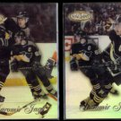 JAROMIR JAGR (2) diff. 1999 Topps Gold Label #5.  PENGUINS
