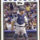 JORGE POSADA 2008 Topps from Team Card Set #NYY13.  YANKEES