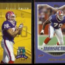 BRUCE SMITH 1997 Playoff #78 + 2000 Topps #273.  BILLS