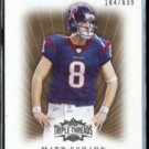MATT SCHAUB 2007 Topps Triple Threads #'d Insert 184/639.  TEXANS