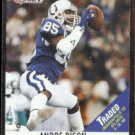 ANDRE RISON 1990 Pro Set Traded Missing Something Back.  COLTS