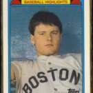 ROGER CLEMENS 1988 Topps Woolworth Glossy #11 of 33.  RED SOX