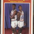 OLAJUWON / DREXLER 1989 Fleer All Star #164.