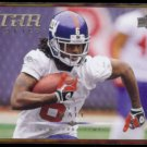 D.J. HALL 2008 Upper Deck Star Rookies #222.  GIANTS / CRIMSON TIDE