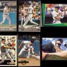CAL RIPKEN Jr. (6) Card Lot (1991 - 1995).  ORIOLES