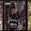 DAVID ROBINSON (3) Card Lot (1992, 1993 + 1997)  SPURS