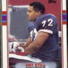 ART STILL 1989 Topps #49.  BILLS