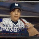 NICK JOHNSON 2000 Skybox Prospect #229.  YANKEES