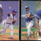 DAVE STEWART 1993 Flair #295 + 1994 Flair #121.  BLUE JAYS