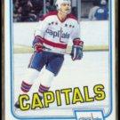 MIKE GARTNER 1981 Topps #117.  CAPITALS