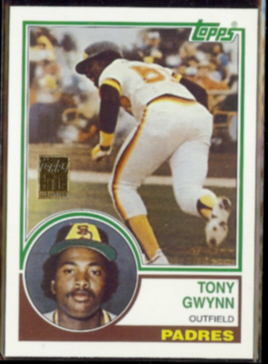 TONY GWYNN 2000 Topps Reprint (1983) #36 of 50.  PADRES