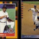LOU WHITAKER 1988 Donruss Best #315 + 1993 UD SP #243.  TIGERS