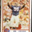 LEON SEALS 1989 Louis Rich / Erie Co. Sherrif's Dept.  BILLS