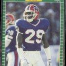 DERRICK BURROUGHS 1989 Pro Set #18.  BILLS