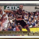 CLIFF ROBINSON 1992 Topps GOLD Insert #94.  TRAIL BLAZERS