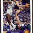 CHRIS MULLIN 1992 UD McDonald's Insert #P14.  WARRIORS