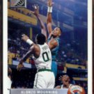 ALONZO MOURNING 1992 UD McDonald's Insert #P44.  HORNETS