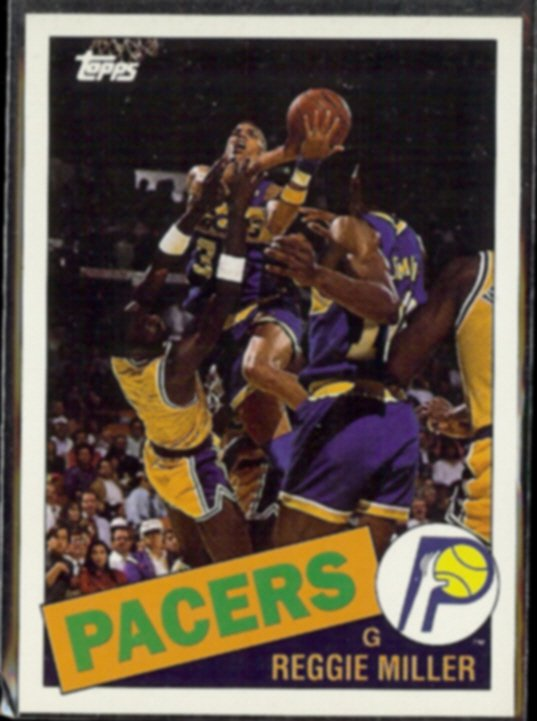REGGIE MILLER 1993 Topps Archives #67.  PACERS