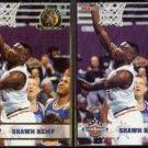 SHAWN KEMP 1993 Hoops GOLD All Star Insert #273 w/ sister.  SONICS