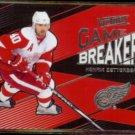 HENRIK ZETTERBERG 2010 Upper Deck Victory Game Breakers Insert #GB-HZ.  RED WINGS