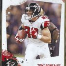 TONY GONZALEZ 2010 Score #18.  FALCONS