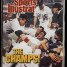 TWINS 1998 Fleer Sports Illustrated Glossy (THE CHAMPS) #12.