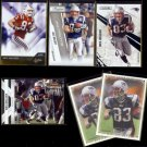WES WELKER (6) Card Lot (2008, 2010 + 2011).  PATRIOTS