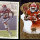 JAMAAL CHARLES 2008 UD Masterpieces + 2013 Panini Crown Royale.  CHIEFS