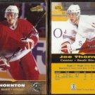 JOE THORNTON (2) 1996 Score Board All Sports Plus RC's #171.  SAULT Ste. MARIE