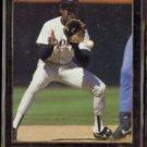 TONY FERNANDEZ 1992 Leaf Black GOLD Insert #187.  PADRES