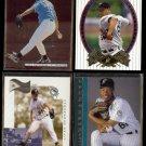 LIVAN HERNANDEZ (4) Card Lot (1996 - 2002) w/ Rookie.  MARLINS