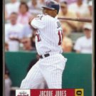JACQUE JONES 2005 Donruss #239.  TWINS