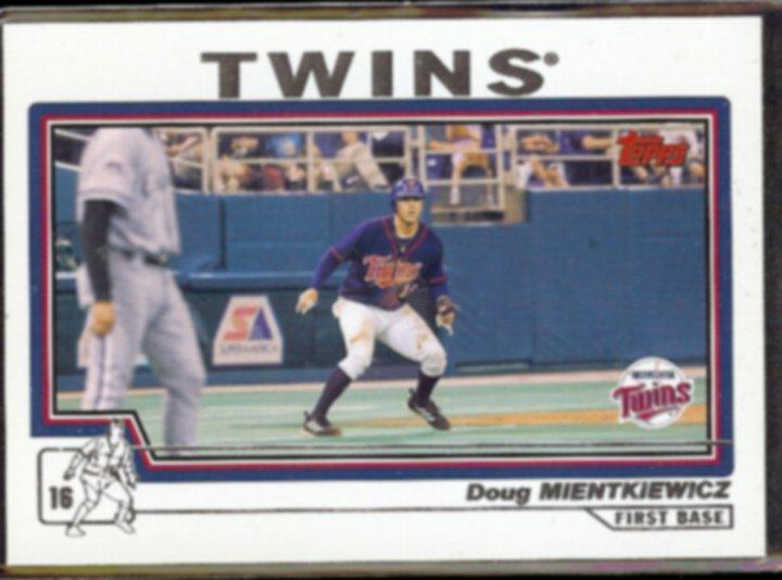 DOUG MIENTKIEWICZ 2004 Topps #243.  TWINS