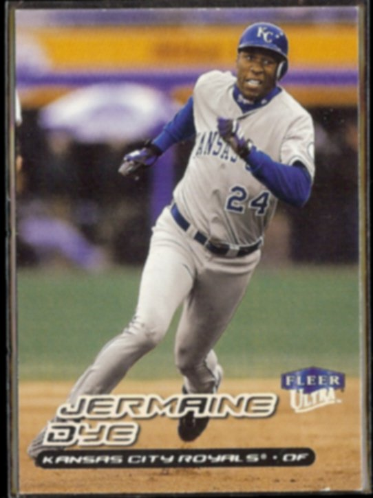 JERMAINE DYE 2000 Ultra #248.  ROYALS