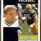 BRYCE PAUP 1991 Pinnacle #183.  PACKERS