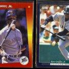 KEN GRIFFEY Jr. 1992 Tripe Play #152 + 1994 Score #3.  MARINERS