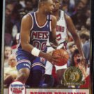 BENOIT BENJAMIN 1993 Hoops GOLD Insert #368.  NETS