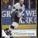 WAYNE GRETZKY 2002 Upper Deck Foundations #44.  KINGS