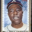 HANK AARON 1999 Topps Magic Moments #237.  BRAVES