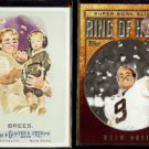 DREW BREES 2010 Topps A&G #287 + 2010 Topps Ring of Honor Insert #RH44-DB.  SAINTS