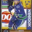 DAVID BOOTH 2012 UD Exclusives #'d Insert 068/100.  CANUCKS