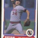 BRYAN HARVEY 1988 Score Young SuperStars #30.  ANGELS