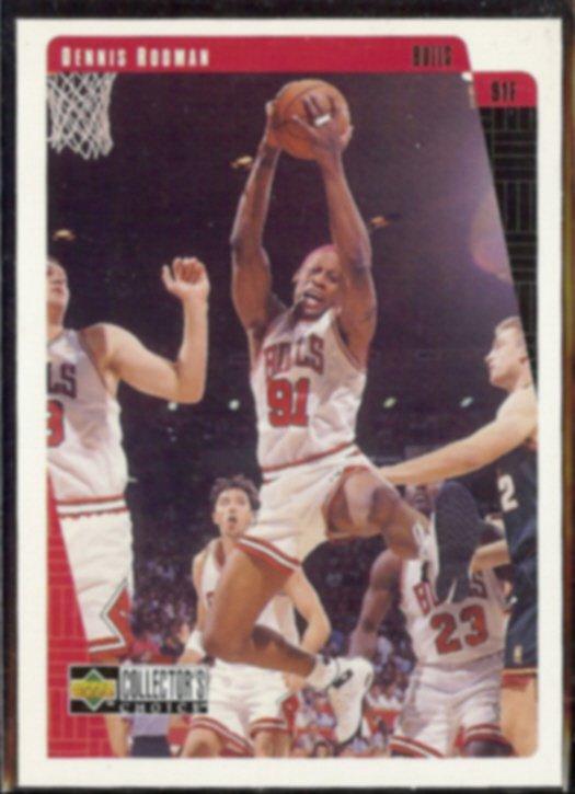 DENNIS RODMAN 1997 Upper Deck CC #17.  BULLS