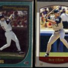 TROY GLAUS 2000 Topps #390 + 2000 Bowman #124.  ANGELS